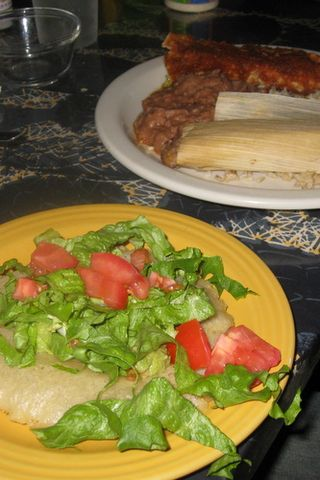 vegetarian Mexican food